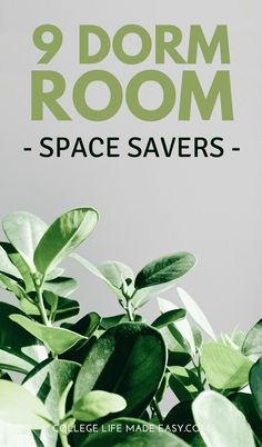 College dorms - most of the time you just don't have enough space. Check out these 9 dorm space savers for ideas on how to really maximize what you're working with. Awesome extra storage products for college! Dorm Hacks, College Hacks, College Life, College Club, Ncaa College, Dorm Life, College Basketball, Diy Dorm Decor, Dorm Decorations