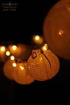 the warm glow of lanterns, very romantic