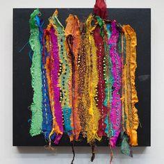Silk Explosions 1   fabulous fiber art by Carol Ann Waugh (Stupendous Stitching class & book, Stitch & Slash class on Craftsy)