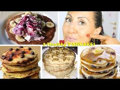 3 PANCAKES SANI E LEGGERI - HEALTHY Pancake | Carlitadolce Cucina - YouTube