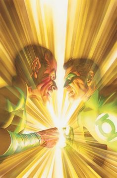 Cover by Alex Ross   Witness the triumphant return of Green Lantern and his showdown with Sinestro in the penultimate issue of JUSTICE! Captain Marvel's incredible victory! The challenge of Aquaman! But will the super-villains still maintain the upper hand if they have Aquaman's son and a world in their grasp?