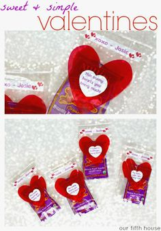 simple, sweet and punny valentines - with Zink hAppy