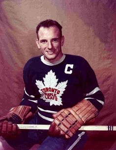 "On this day in Former centre Ted ""Teeder"" Kennedy was born in Humberstone, ON. Toronto Maple Leafs - Maple Leaf Fans remembers your legacy. Hockey World, Women's Hockey, Hockey Players, Baseball, Nhl, Ted Lindsay, Maple Leafs Hockey, Ted Kennedy, Tim Hortons"