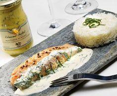 For the Mustard lovers… with Edmond Fallot Basil Dijon Mustard