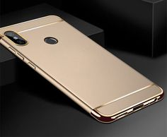 4d0ce4310 For Xiaomi Redmi Note 5 Pro 5A 4X Electroplate Hybrid Hard Back Case Full  Cover