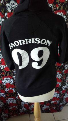 jim morrison 09 hoody hoodie size S rock metal music NEW