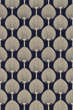 Best Carpet Runners For Hallways Aqua Wallpaper, Art Deco Wallpaper, Hallway Carpet Runners, Cheap Carpet Runners, Tessellation Art, Florence Broadhurst, Textile Prints, Textiles, Decoupage Paper
