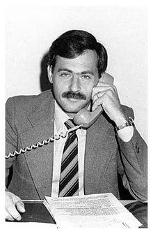 """Ninni Cassarà, stretto collaboratore di Giovanni Falcone. Fece parte del """"pool"""" antimafia. Morì ucciso dalla mafia."""