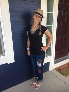 The Lynne Ladies Jeans womens size 10 by RhapsodyReinventions
