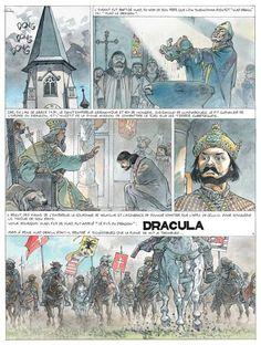 """""""Sur les traces de Dracula -1- Vlad l'Empaleur"""" - Yves H. & Herman (2006)"""