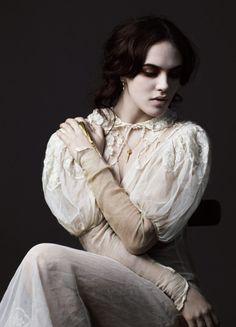 Jessica Brown Findlay for Dominic Jones Jewellery A/W 2012