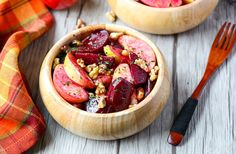 Roasted Beet and Apple Salad - perfect for the Year of the Beet!