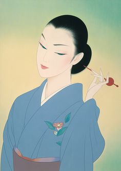 Doctor Ojiplático.Ichiro Tsuruta カレンダー. Bijin-ga (美人画). Ilustración…