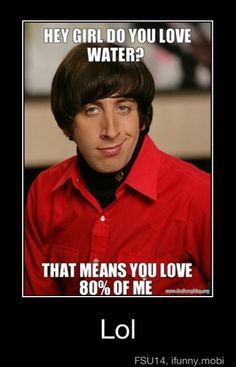 Nerdy pick-up lines.