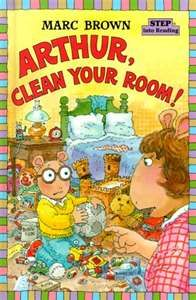 Arthur Books <3. I always used the stickers inside to make my own stories.