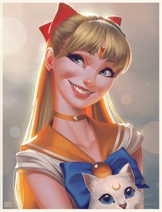 ArtStation - Sailor Venus, Leandro Franci