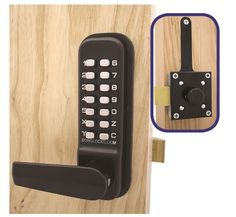 http://borglocks.com/mechanical-keyless-locks/4400-series/marine-grade-keypad-inside-slam-latch-mgpro-finish  If you need a medium-heavy duty lock, why not try out this lock? The specially designed handle in free moving until the right pin is entered to help prevent misuse. Find out more on our website.  Borg Locks (UK) Ltd, Unit 9 Upminster Trading Park, Warley Street, Upminster, RM14 3PJ