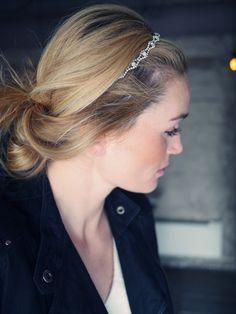 High on the wish list «Camilla Pihl :: Rosita Headwrap by Jennifer Behr :: Gimle :: headband :: crystal :: gatsby :: style :: bridal :: bride :: wedding :: inspiration