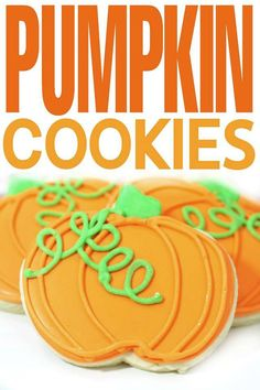 These Pumpkin Cookie