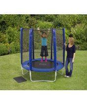 Plum 6ft Trampoline and Enclosure - Blue : Plum 6ft Trampoline and Enclosure - Blue : Early Learning Centre UK Toy Shop