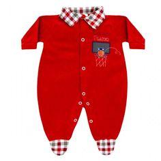 Macacão de Bebê Menino Basquete :: 764 Kids Loja Online, Roupa bebê e infantil !