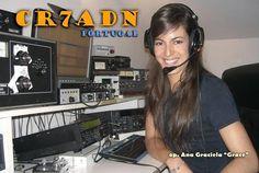 Answer-qsl-svar Arduino, Reloading Room, Ham Radio Operator, Ham Radio Equipment, Village Fete, Ham Radio Antenna, Radios, Penelope Cruz, Female