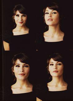 a strong bang. love it Gemma Aterton, Gemma Christina Arterton, English Actresses, Hair Makeup, Beauty Makeup, Hair Beauty, Eye Makeup, James Bond, Girl Crushes