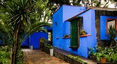 La Casa Azul in Coyoacán, Mexico. (Lou Huang)