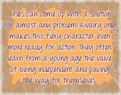 aries horoscope | Zodiac Personality Traits