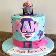 Image result for paw patrol girls birthday cake