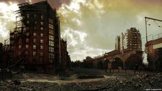 Manchester after an apocalypse