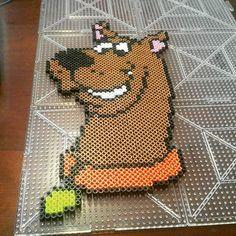 Scooby-Doo perler beads by  marquiselerue