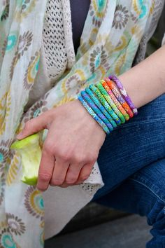 How do you wear your Lily and Laura® bracelets?