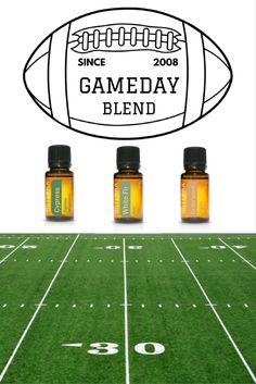 In the diffuser or on the field? We'll never know!  #doterra #essentialoils…