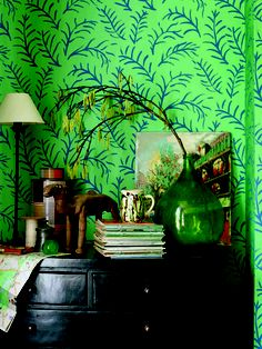 Sanderson wallpaper (Matisse Leaf )