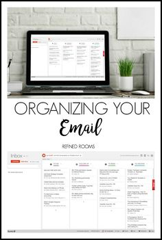 Tackle email organization as part of the Organize and Refine Your Home Challenge with Refined Rooms