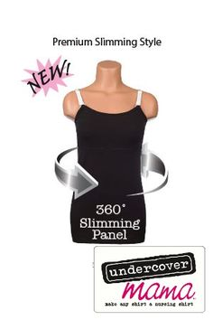 Slim Mama- $34.99 : undercovermama.com NEW Slim Mama smoothes and shapes your belly, side and back without constricting your chest or interfering with breastfeeding. #nursing #undercovermama
