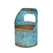 Image result for steel oil drum furniture