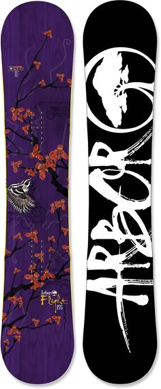Arbor Flight Snowboard 2011/2012, $254, rocker, directional twin, bamboo