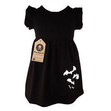 Black Bat Dress Gothic Alternative Toddler Girls Punk Cute Different Alternative
