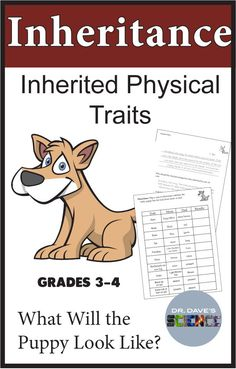 A fun and engaging activity for inherited traits. Perfect for elementary science when studying physical traits, inherited traits and instincts. Science Resources, Science Books, Science Lessons, Science Activities, Life Science, Science Ideas, Elementary Science Classroom, Science Classroom Decorations, Classroom Activities