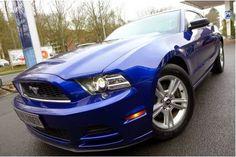 Gebrauchtwagen Ford Mustang V6 3.7: Gebrauchtwagen, 24.880 EUR, 36.600 km, 07 / 2013, Benzin, Schaltgetriebe, deep impact blue, Sportwagen Und Coupe