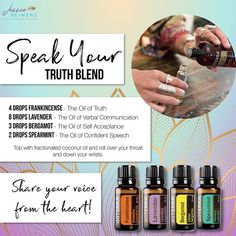Try this blend! It came through for me as I was on a sound Journey the other day with @themagicofyouheatherjean Need oils? Visit the link at @jessie_reimers profile #essentialoils #speakyourtruth #shareyourvoice #blend