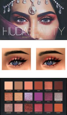 Lana CC Finds - HUDA BEAUTY DESERT DARK PALETTE