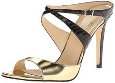 Ivanka Trump Women's Davylns Dress Sandal * Check this awesome image : Closed toe sandals Marilyn Monroe Shoes, Closed Toe Sandals, Dress Sandals, Heeled Sandals, Evening Sandals, Ivanka Trump, Gold Style, Manolo Blahnik, New Shoes