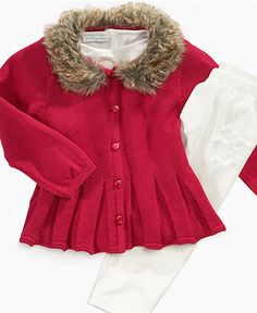 First Impressions Baby Set, Baby Girls Jacket and Pant Set - Kids Shop All Baby - Macy's
