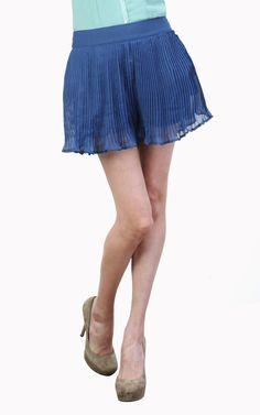 Pleated Shorts - Tulle4Us.com