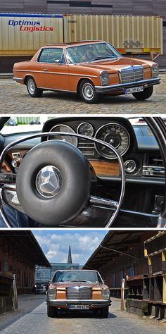 The Mercedes-Benz W114 280 CE from 1973. Photos by Jens Tanz (www.sandmanns-welt.de).