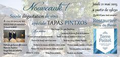 Soirée dégustation de vins Gaillac AOC Bio spéciale tapas Pintxos. Le 21 mai 2015 au restaurant Terre de Pastel Toulouse-Labège
