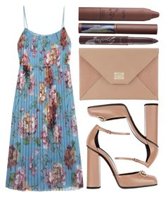 """street style"" by sisaez ❤ liked on Polyvore featuring Gucci, Jimmy Choo, tarte and Sephora Collection"